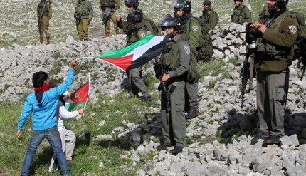 PALESTINIAN-ISRAEL-CONFLICT-DEMO-OUTPOST