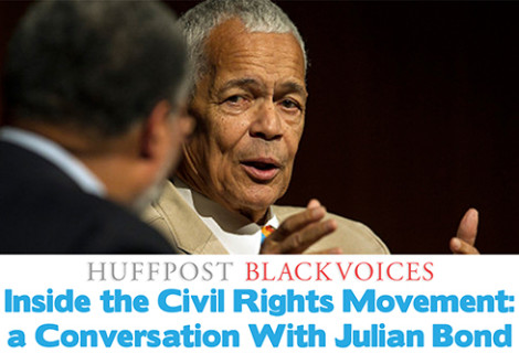 Inside the Civil Rights Movement: a Conversation With Julian Bond