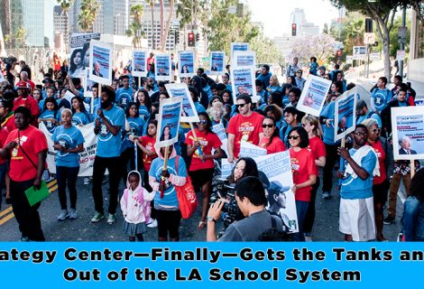 The Strategy Center—Finally—Gets the Tanks and M-16s Out of the LA School System