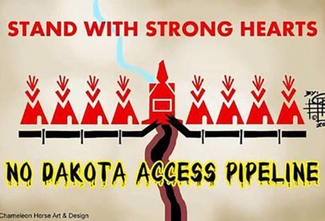 Stand with Standing Rock #DefundDAPL Now