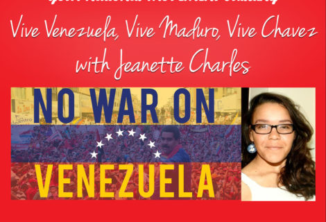 #TODAY ON VOICES RADIO: All Hands on deck to protect the Bolivarian Venezuelan Revolution from U.S. Sabotage and counter revolution  First hand reporting and analysis from Jeanette Charles and others on the frontlines of this critical battle