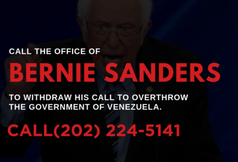 TODAY ON VOICES RADIO: Keep up the calls to U.S. Senator Bernie Sanders