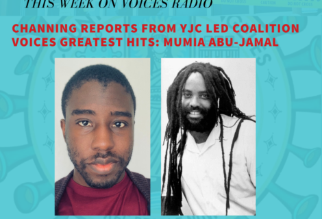 Voices Radio: Mumia Abu-Jamal and Eric Mann on Metacide and Channing Martinez on the YJC led coalition