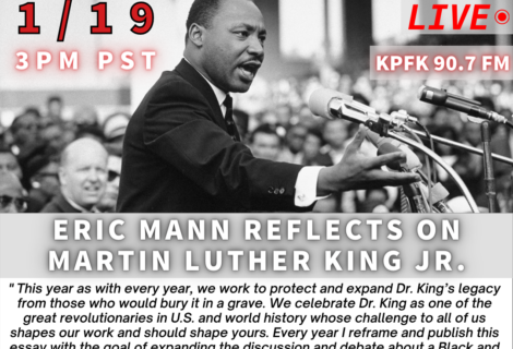 Voices Radio: Eric Mann Reflects on Martin Luther King, Jr.