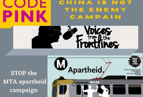 Voices Radio: We speak with Madison Tang on her China is not the Enemy campaign, and Barbara L. Holland of Bus Riders Union.