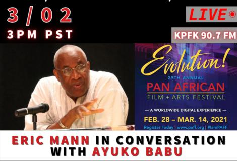 This week on Voices Radio; March 2, 2021 – Eric Mann in Conversation with Ayuko Babu