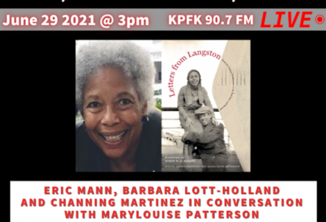 This week on Voices Radio: Eric and Channing speak with Mary Louise Patterson about her book and her childhood.