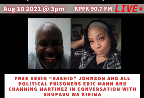 """Today On Voices Radio:  FREE KEVIN """"RASHID"""" JOHNSON AND ALL POLITICAL PRISONERS"""